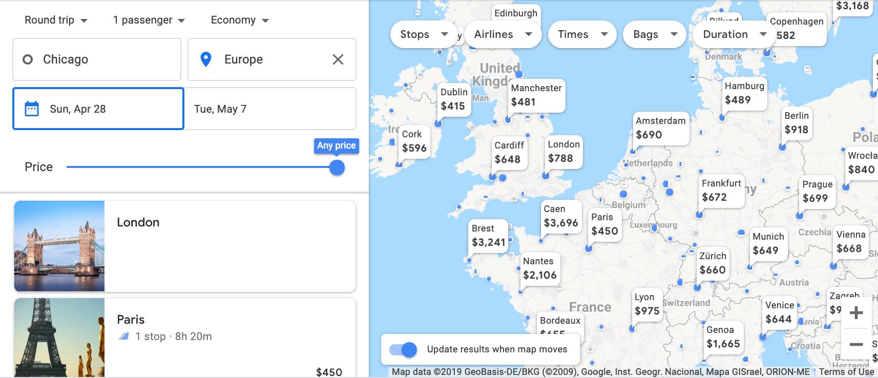 Your Guide To Google Flights on google flight search tool, google earth plane crash, google earth world map,