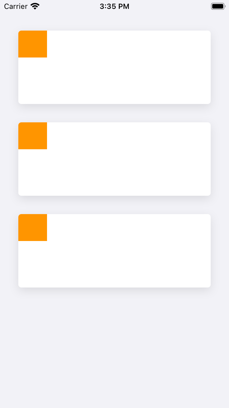 A UICollectionViewCell with a Drop Shadow and Rounded Corners