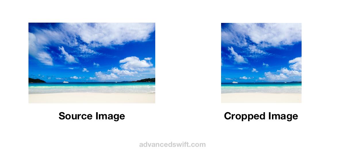 Center Rectangular Cropped Image Example