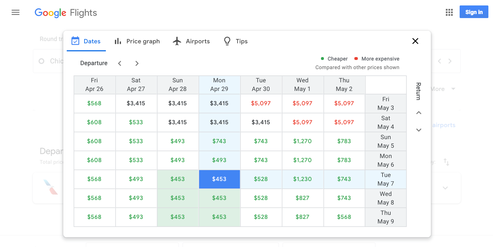 Reliably Find Deals On Google Flights